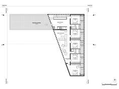 ACAU Architectes Marseille - Maison à Guzargues - Plan du niveau R+1