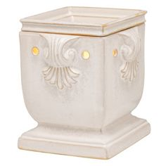 Windsor Full-Size Scentsy Warmer  Add a regal touch with a polished, square shape and exquisite scrollwork detailing.  www.jodipalmer.scentsy.us