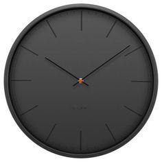 Tone Wall Clock by LEFF Amsterdam. Sleek, modern and masculine.