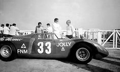 Carlos Pace, Alfa Romeo P33 - Scuderia Jolly Gancia