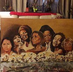 #BlackHistoryMonth #RosaParks #MayaAngleou #MichelleObama #OprahWinfrey & All These African American Woman Barriers Breaking Achievements #AfricanAmericanHistoryMonth #BlackHistoryMonth #February #AllYear #BlackGirlsRock #CivilRightsMovement #CivilRights #Achievements #ArtWork