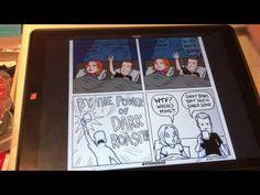 Making Comics With IPad Pro, Apple Pencil And ProCreate App - YouTube