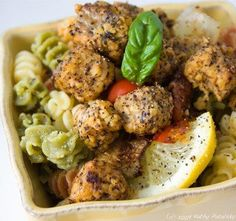 20 Delicious Tempeh Recipes for the Meatless Cook: Zesty Lemon Pepper Tempeh-tations