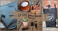 10 DIY Geschenke für Männer! Geburtstagsgeschenk selber machen