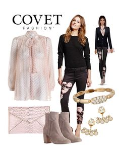 Pretty in pink for Fall 2015 in Covet Fashion!