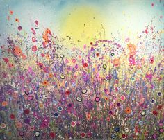 Title: This Is Where Love Lives Medium: Oil Size: 100cm x 120cm Signed and titled on the back by Yvonne Coomber.