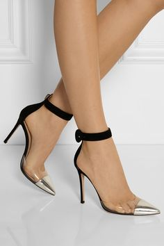 Gianvito Rossi These are different and should be tried. #heels #pumps #fashion
