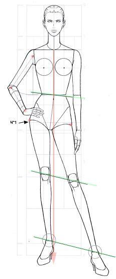 figurine dehanche - Mode, dessins et créations couture Illustration Tutorial, Illustration Mode, Fashion Illustration Sketches, Fashion Sketches, Fashion Design Illustrations, Dress Sketches, Fashion Figure Drawing, Human Figure Drawing, Figure Drawing Reference