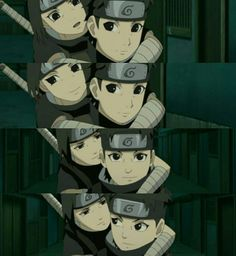 Aww itachi N Hisui. Their friendship is really adorable