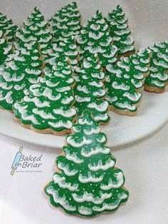 Simple Evergreen Cookies | Flickr - Photo Sharing!