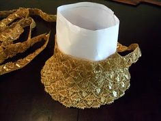 Building a straw braid bonnet (Regency) | Festive Attyre