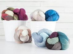 Shop Craftsy's premiere assortment of knitting supplies and save! Get the Lorna's Laces Solemate Yarn before it sells out. - via @Craftsy