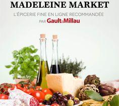 MadeleineMarket, Plus grande épicerie fine sur internet d'Europe.