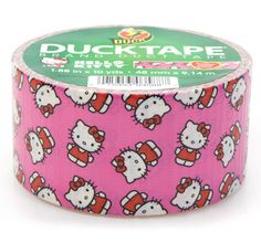 Hello Kitty Duck Tape.  Guess what you're getting for Christmas!