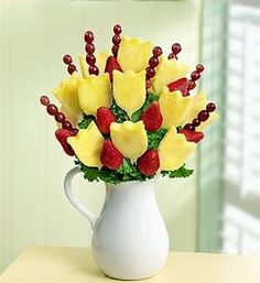 Edible Arrangements Fruit Bouquet - Pitcher of Fruit | Yelp