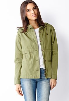 Life in Progress Casual Hooded Jacket | FOREVER 21 - 2000070095