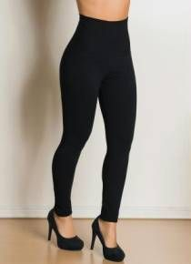 Calca legging modeladora preta