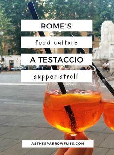 Rome   Testaccio   City Break   Italy Breaks   Food Guide #traveltips #rome #italy