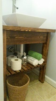 Easy Kitchen Island/ Bathroom vanity | Do It Yourself Home Projects from Ana White