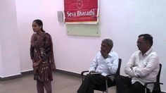 Song by Tribal Nursing student of Seva Bharathi