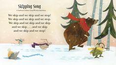 Illustration for a traditional children's song for Babybug Magazine.