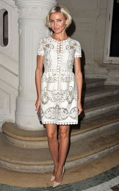 Valentino. A favorite, this dress is just GORGEOUS!