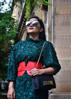 Dress – Zara | Corset Belt – Zara | Bag – Dior | Sunglasses – Fendi | Shoes – Zara Is it too early to start sporting fall hues !!! It may or may not be but nothing's stopping you from making most out of this transitional phase. For days like these in monsoon when …