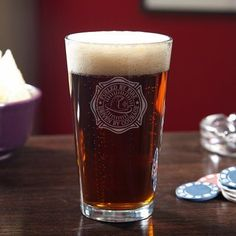 This pint glass is going to be a great gift for dad this Father's Day.