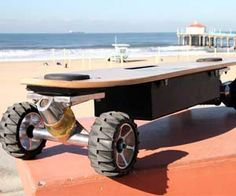 Motorized skateboards are nothing new, but this weight sensing skateboard takes things to a whole new level. It uses intuitive shifting of your body weight to move on the skateboard, similar to a Segway - just lean in the direction you want to go and the board will do the rest! Buy It $499.99 via…