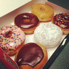 Start the week off right with a half dozen!