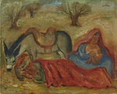 Reuven Rubin, The Rest on the Flight to Egypt