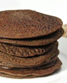Chocolate Lentil Pancakes -- uses red lentils. I wonder if I can make them with the normal lentils?