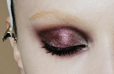 make-up at Gucci fal