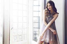Silk Dress, Embellishments, Cherry, Crystals, Shopping, Dresses, Fashion, Silk Gown, Vestidos