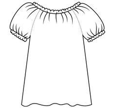 Adult-size Peasant Blouse Tutorial PDF