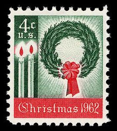 Today (November 2) in 1962 the first official U.S. Christmas Issue stamp was placed on sale at the Pittsburgh, PA post office. Traditional symbols adorn the stamp, which started a tradition of holiday stamps that continues today.