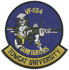 "VF-124 GUNFIGHTERS ""TOMCAT UNIVERSITY"""