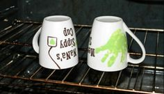 Handprint Mugs