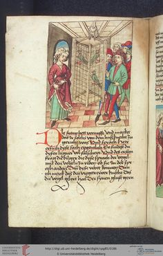 Cod. Pal. germ. 85: Antonius von Pforr: Buch der Beispiele (Schwaben, um 1480/1490), Fol 89v