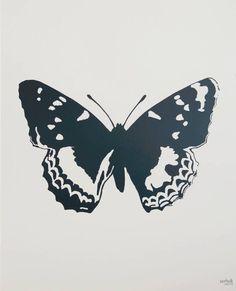 Serholt poster butterfly