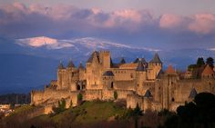 The medieval citadel of Carcassonne, France. Carcassonne France, French Castles, Travel Reviews, South Of France, Beautiful Buildings, Beautiful Scenery, Pyrenees, France Travel, Wanderlust Travel