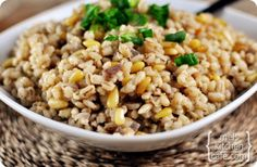 Barley Pilaf-any more barley recipes out there? I'm looking to bust into my newly acquired bucket o' barley.