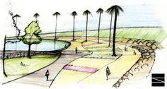 tfg arquitetura paisagismo revitalização praça - Pesquisa Google