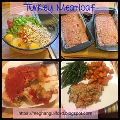 The belly rules the mind: Turkey Meatloaf - 21 Day Fix - Revisited