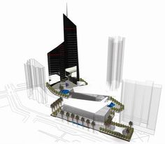#jakarta #businessdistrict #architecture #masterplan