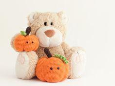 Amigurumi Halloween Pumpkin - FREE Crochet Pattern / Tutorial
