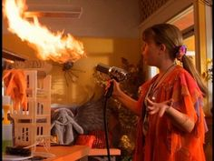 And a hair dryer that was actually a flamethrower.