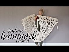 Best Absolutely Free Macrame hammock Ideas If you've already uncovered all of our new macramé collection and you are obviously simply hooked Macrame Hanging Chair, Macrame Wall Hanger, Macrame Chairs, Hanging Chairs, Macrame Knots, Macrame Jewelry, Diy Hammock, Hammocks, Crochet Hammock Diy