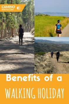 The health benefits of walking have been well documented. Walking The Camino.