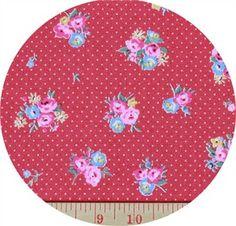 24.Lecien, Flower Sugar Maison, Little Floral Cherry